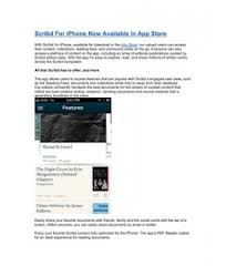 Scribd For iPhone